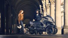 Yamaha Tricity 300, skútr, tříkolka, Zlín