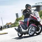 Yamaha Tricity 125, tricity 125, skútr 125, tříkolka Yamaha, skůtr 125