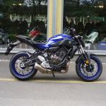 Yamaha MT-07 Zlín