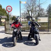 Zajíždíme předváděcí motorky Yamaha Zlín
