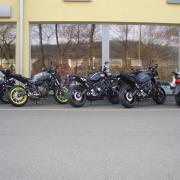 Předváděcí motocykly Yamaha Zlín, demo