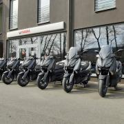 Yamaha Zlín skútry XMAX
