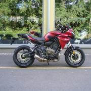 Yamaha Zlín moto akce