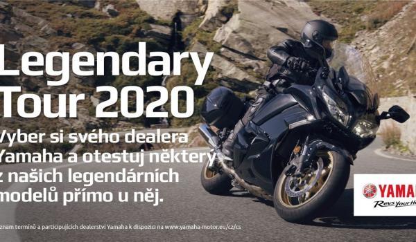 Yamaha Legendary Tour 2020 ve Zlíně