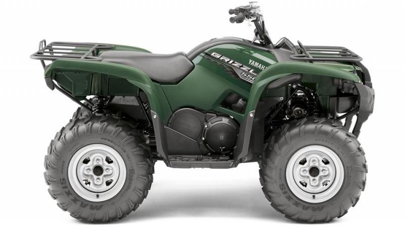 Yamaha Grizzly 550, čtyřkolka Yamaha, Grizzly 550, pracovní čtyřkolka