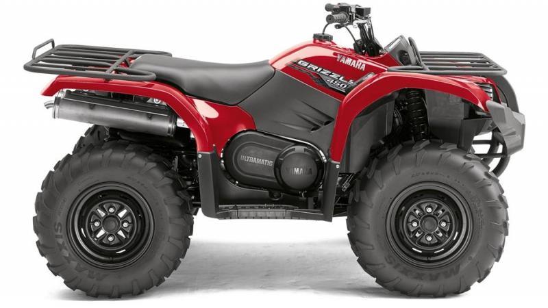 Yamaha Grizzly 450 IRS, YFM 450 IRS, čtyřkolka Yamaha Grizzly 450 IRS