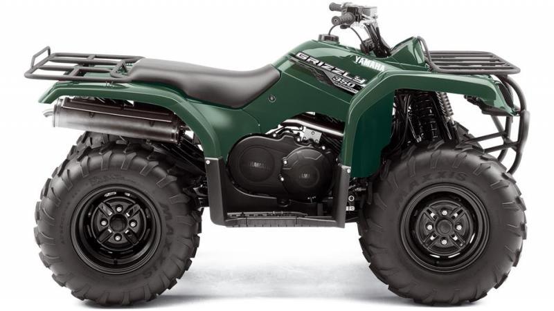 Yamaha Grizzly 350 2WD, ATV Yamaha 350 2WD, YFM 350 2WD,