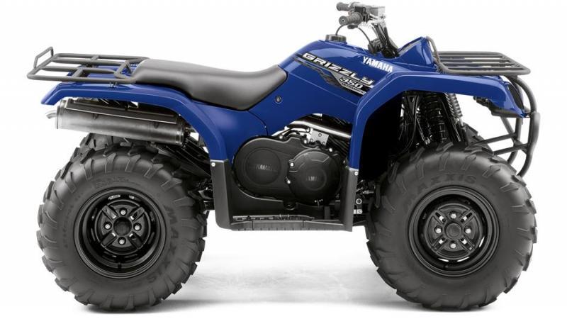 Grizzly 350 4WD, Yamaha Grizzly 350, pracovní čtyřkolka Grizzly 350