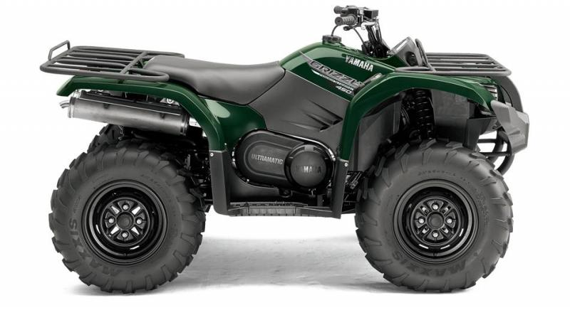 Yamaha Grizzly 450 EPS, YFM 450 EPS, ATV Yamaha Grizzly 450 EPS